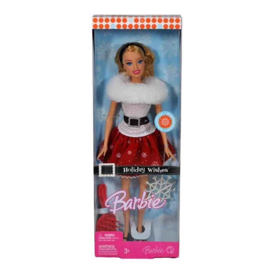 バービー人形 着せ替え おもちゃ Holiday Wishes Barbie Doll 輸入品