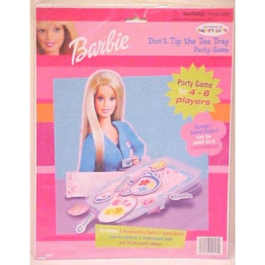 バービー人形 おもちゃ 着せ替え Barbie Don't Tip The Tea Tray Party Game 輸入品