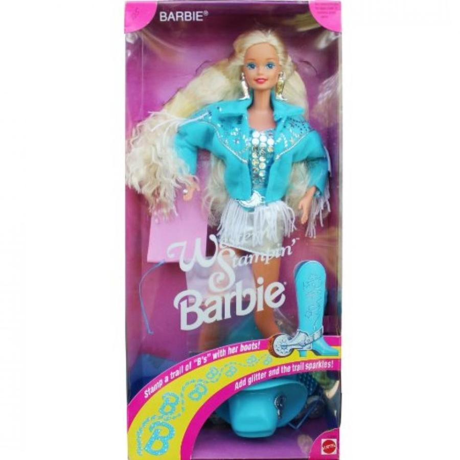 バービー人形 おもちゃ 着せ替え Western Stampin Barbie Doll 輸入品
