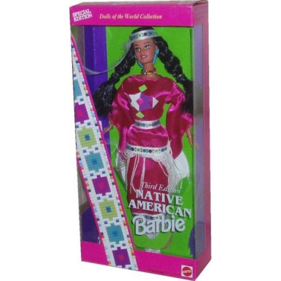 バービー人形 着せ替え おもちゃ Native American Barbie - Third Edition - Dolls of the World Collection 輸入品