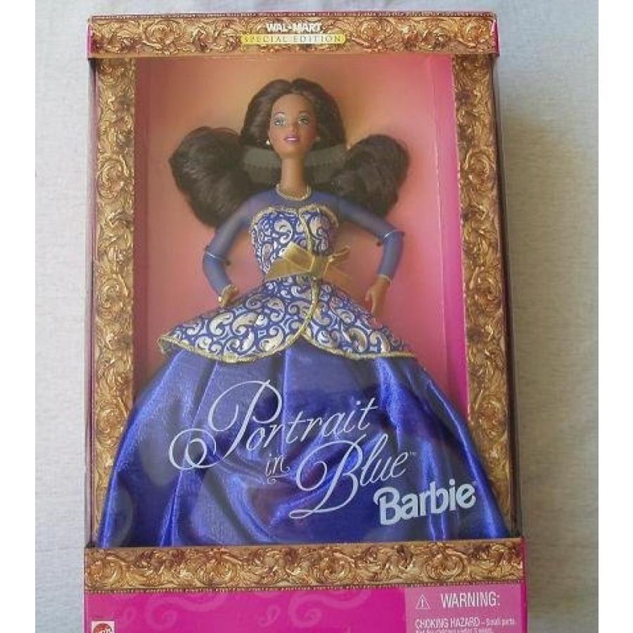 バービー人形 着せ替え おもちゃ Portrait in 青 輸入品