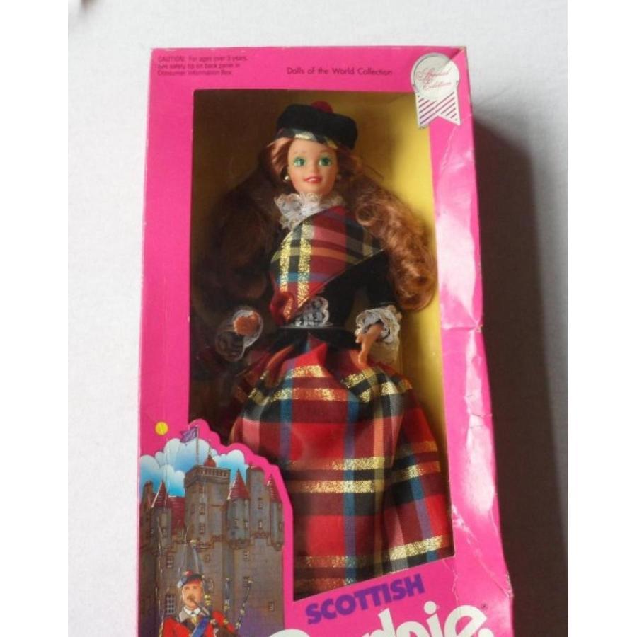 バービー人形 おもちゃ 着せ替え Scottish Barbie, Second Edition 1990 輸入品