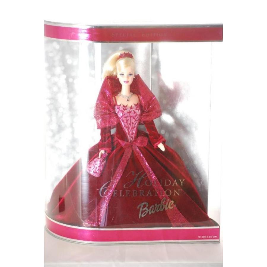 バービー人形 おもちゃ 着せ替え 2002 Holiday Celebration Barbie Mattel 輸入品