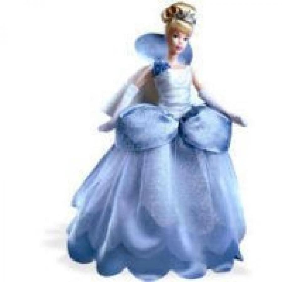 バービー人形 おもちゃ 着せ替え 2002 Disney Collector Doll - Midnight Romance Cinderella 輸入品