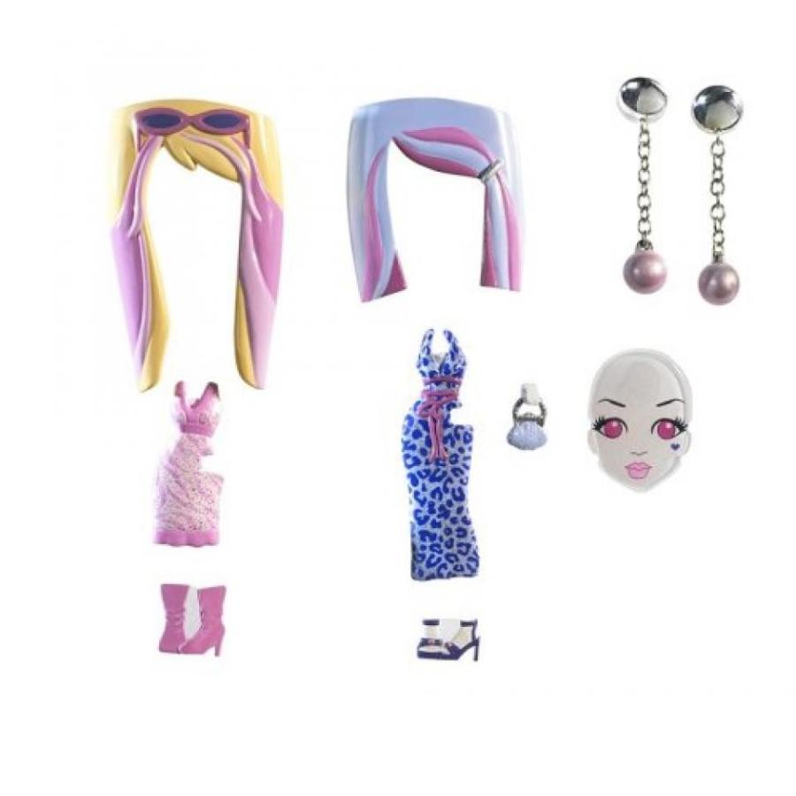 バービー人形 着せ替え おもちゃ Barbie Girls Glam Gowns Pack - ピンク and グレー 輸入品