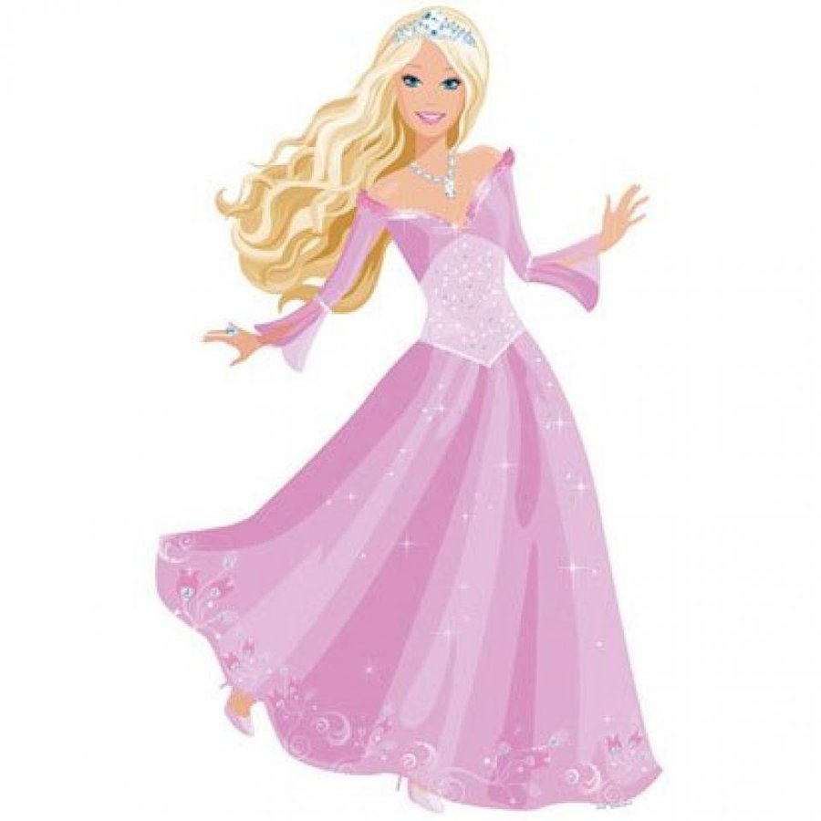 バービー人形 着せ替え おもちゃ Barbie Princess Character Wall Decoration 輸入品
