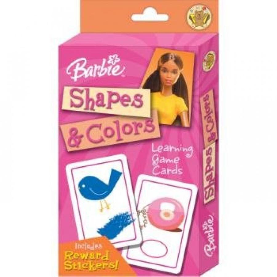 バービー人形 着せ替え おもちゃ BARBIE Shapes & Colors FLASH Cards with BONUS Reward Stickers! 輸入品