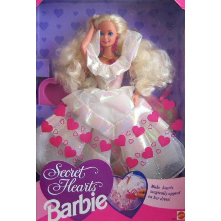 バービー人形 おもちゃ 着せ替え Secret Hearts Barbie Doll 1992 輸入品