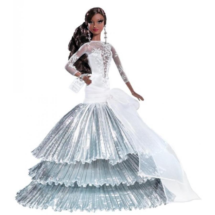 バービー人形 おもちゃ 着せ替え Mattel Barbie Collector Holiday Doll AA 輸入品