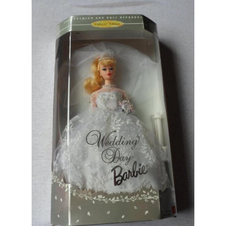 バービー人形 おもちゃ 着せ替え Wedding Day Barbie ~ 1960 Fashion and Doll Reproduction Collector Edition 輸入品