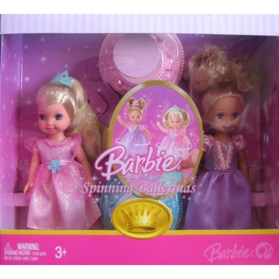 バービー人形 おもちゃ 着せ替え Barbie Spinning Ballerinas 4 Inch Tall Doll - Caucasian Ke
