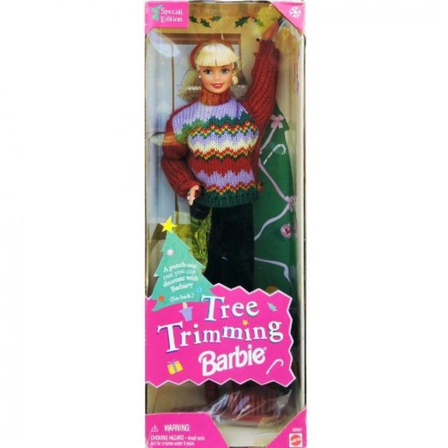 バービー人形 着せ替え おもちゃ Christmas Tree Trimming Barbie Doll - Holiday Special Edition (1998) 輸入品