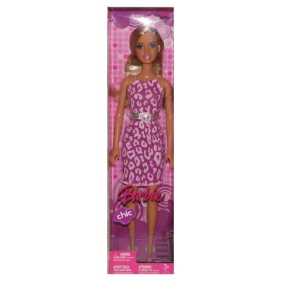 バービー人形 着せ替え おもちゃ Barbie Chic Doll with Hair Brush (Assorted) 輸入品