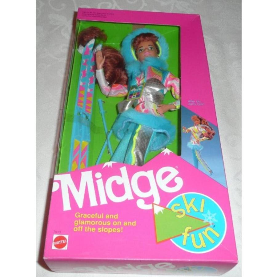 バービー人形 おもちゃ 着せ替え Ski Fun Midge 1991 Mattel 輸入品