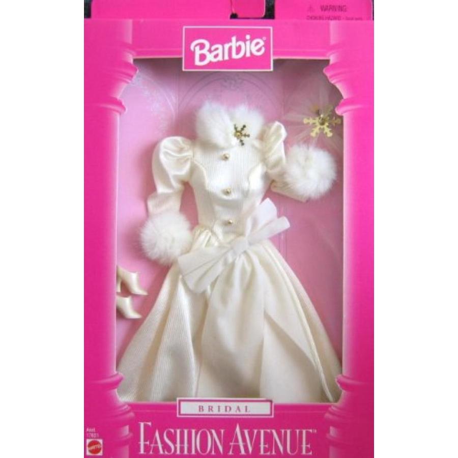バービー人形 おもちゃ 着せ替え Barbie Bridal Fashion Avenue Fashions w Faux Fur Trim (1997) 輸入品