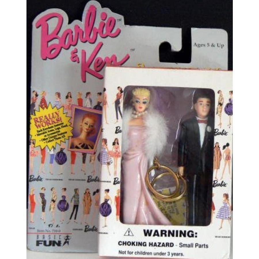 バービー人形 着せ替え おもちゃ BARBIE + KEN Keychain Set - Enchanted Evening 輸入品