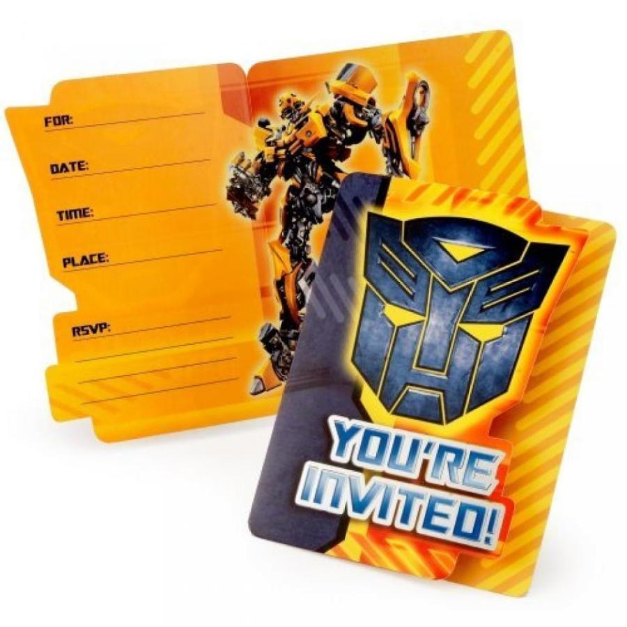 トランスフォーマー おもちゃ 変形 合体ロボ Transformers Revenge of the Fallen Invitations (8 count) 輸入品