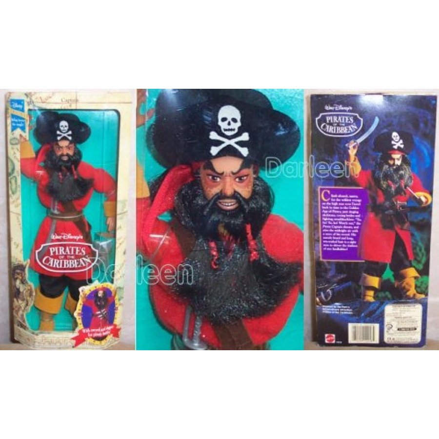 バービー人形 おもちゃ 着せ替え Disney Exclusive Pirates of the Caribbean THE PIRATE CAPTAIN DOLL 輸入品