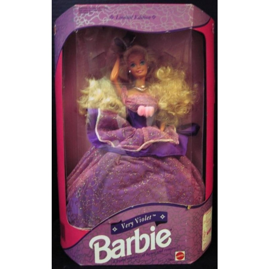 バービー人形 着せ替え おもちゃ 1992 Limited Edition Very Violet Barbie 輸入品