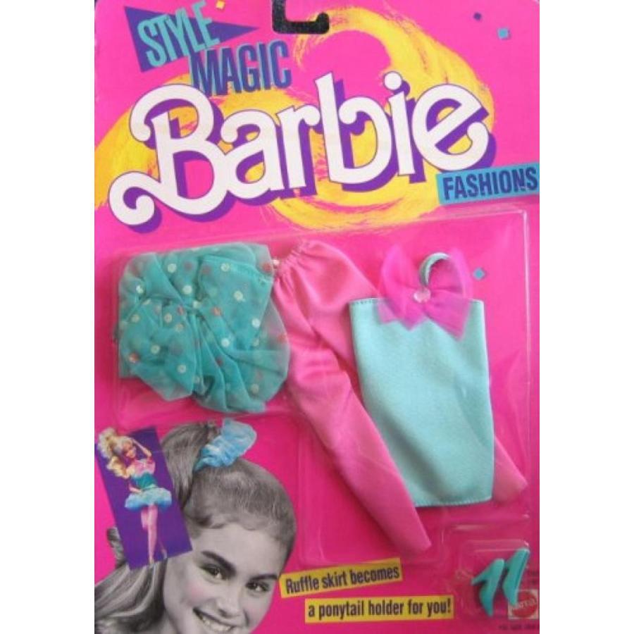 バービー人形 おもちゃ 着せ替え Barbie Style Magic Fashions (1988) 輸入品