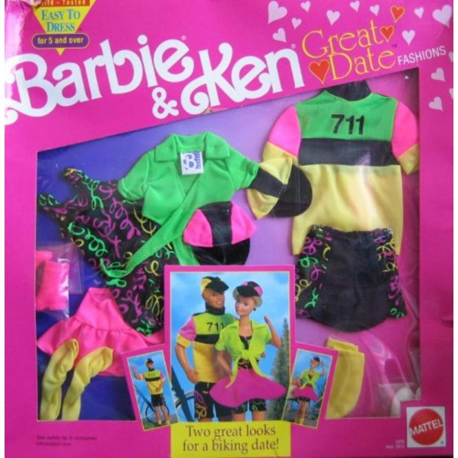 バービー人形 おもちゃ 着せ替え Barbie & Ken Great Date Fashions - BIKING DATE! (1991) 輸入品