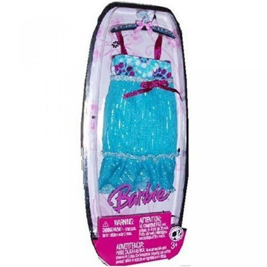バービー人形 着せ替え おもちゃ Barbie fashion fever aqua baby doll style dress with spaghetti straps and trim at hem 輸入品