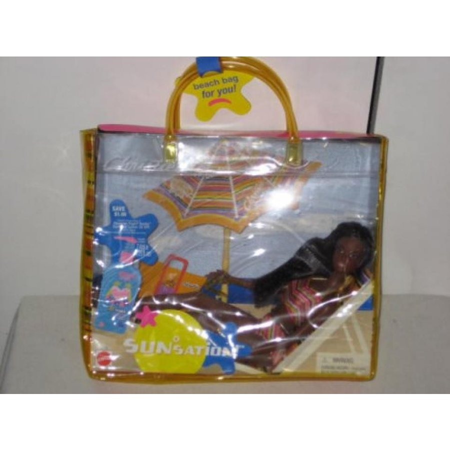 バービー人形 おもちゃ 着せ替え Barbie Christie SunSation with Carry Bag 輸入品
