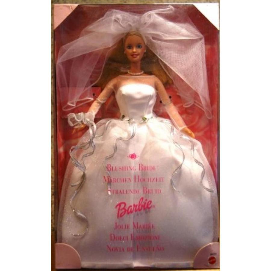 バービー人形 おもちゃ 着せ替え Blushing Bride Barbie Doll 輸入品