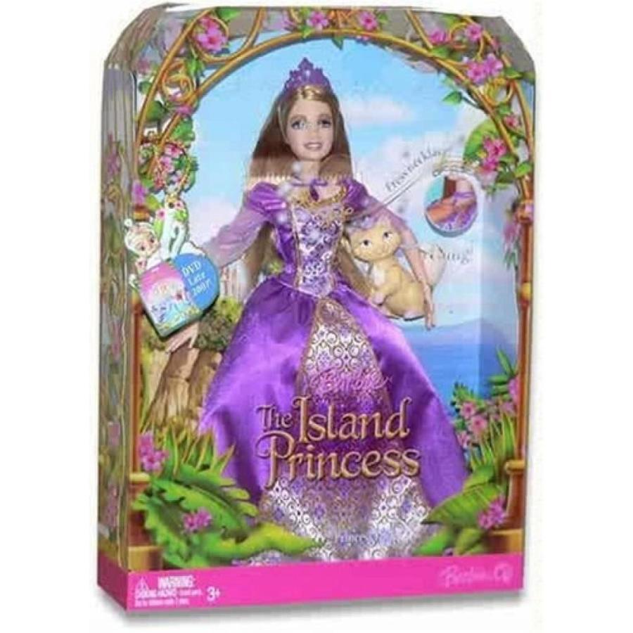 バービー人形 おもちゃ 着せ替え Barbie as The Island Princess - Singing Princess Luciana 輸入品