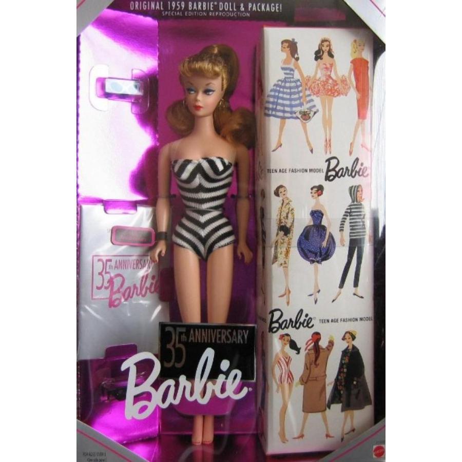 バービー人形 おもちゃ 着せ替え Barbie 35th Anniversary Special Edition Reproduction of Or