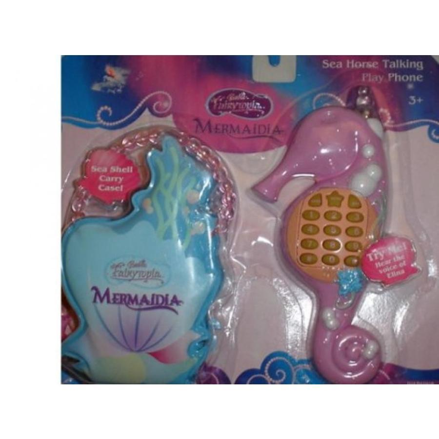 バービー人形 おもちゃ 着せ替え Barbie Fairytopia Mermaidia Sea Horse Talking Play Phone 輸入品