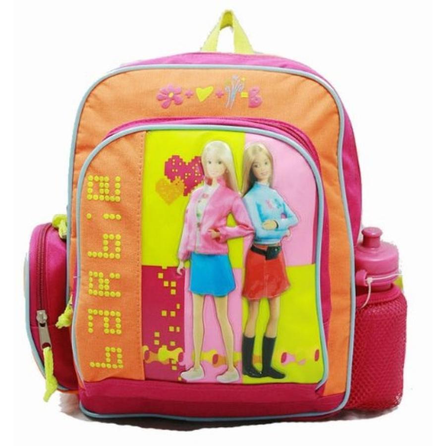 バービー人形 おもちゃ 着せ替え Small Backpack - Barbie - with Water Bottle - オレンジ 輸入品