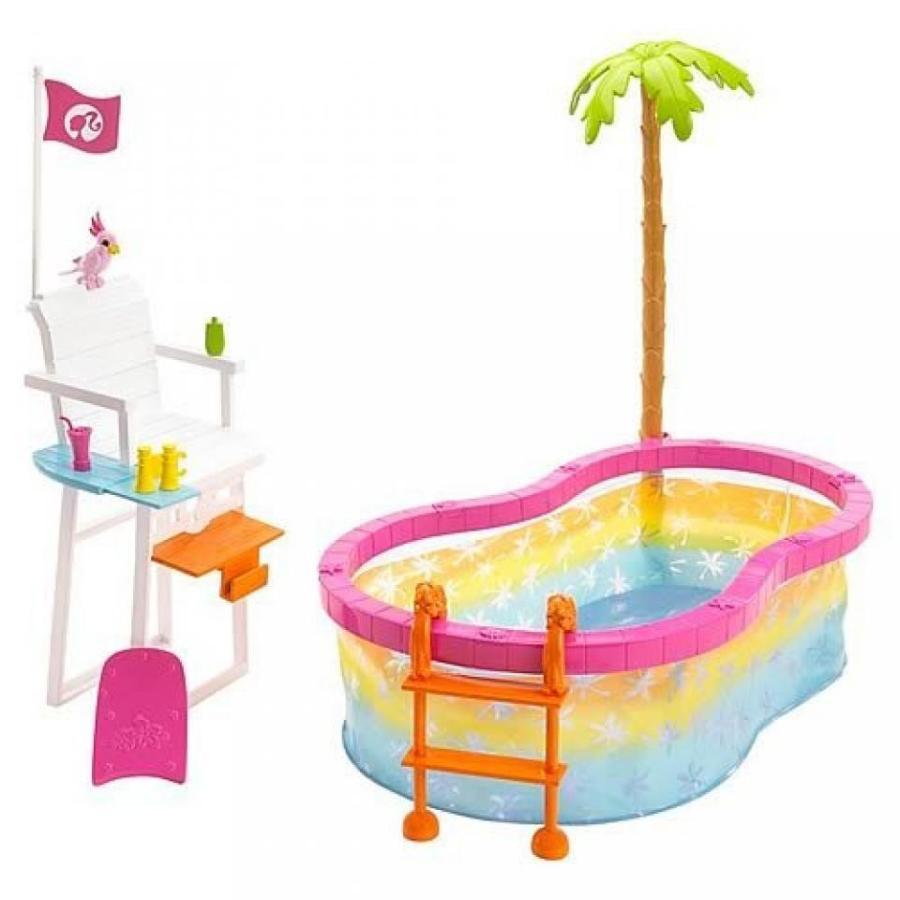 バービー人形 おもちゃ 着せ替え Barbie Beach Party Pool 輸入品