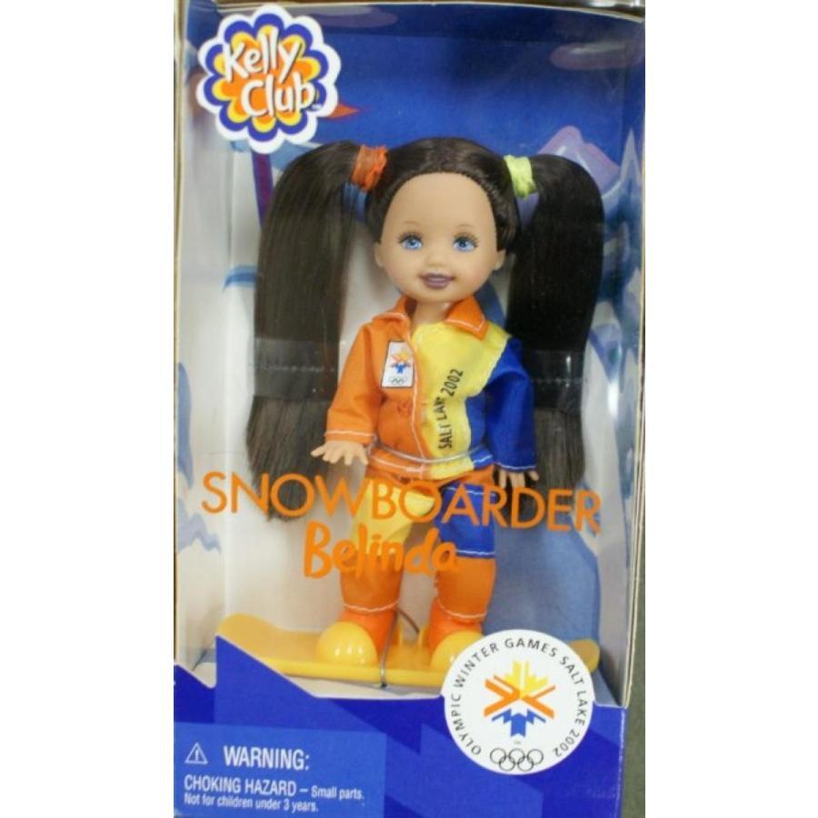 バービー人形 着せ替え おもちゃ Barbie - Kelly Club Doll Snowboarder Belinda Winter Olymic Games Salt Lake 2002 輸入品