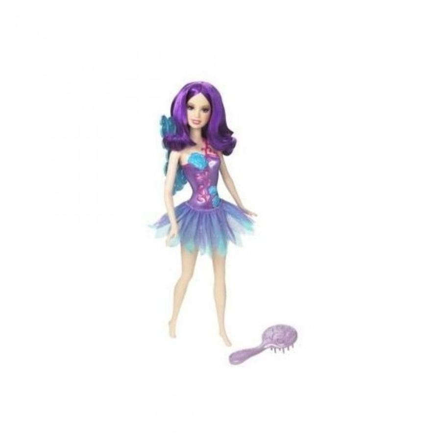 バービー人形 着せ替え おもちゃ Barbie Fairy Doll - 紫の 輸入品