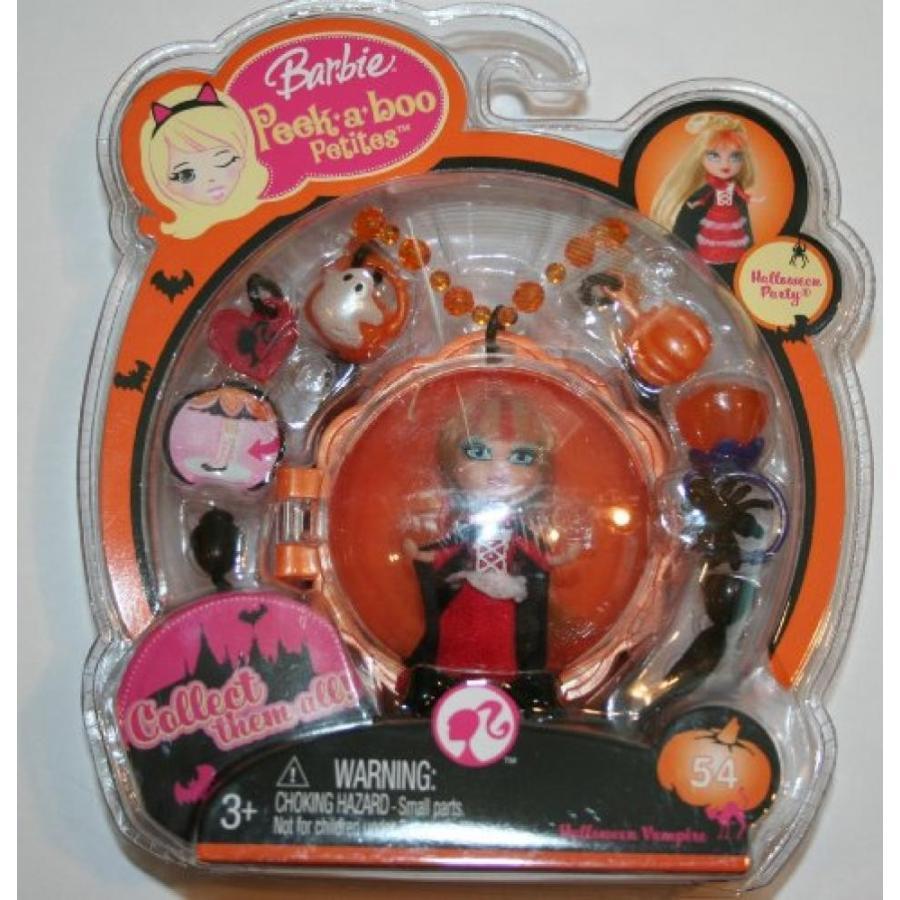 バービー人形 おもちゃ 着せ替え Barbie Peek-A-Boo Petites Halloween Vampire 輸入品