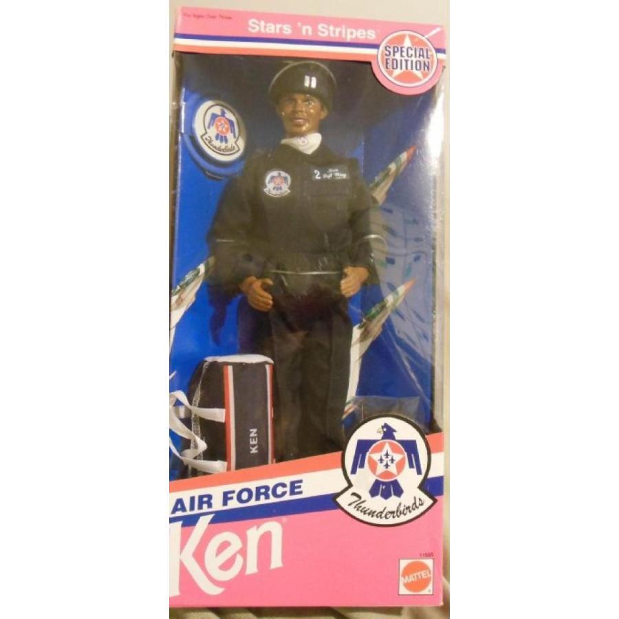 バービー人形 おもちゃ 着せ替え Stars 'n Stripes Air Force Thunderbirds Ken (Barbie) Doll 1993 Special Edition #11554 輸入品