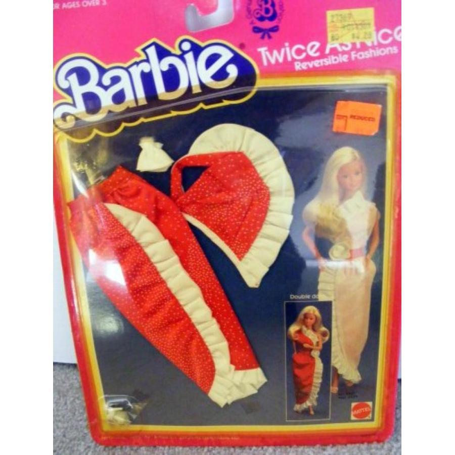 バービー人形 おもちゃ 着せ替え Vintage Barbie Fashions with Shoes Twice As Nice 1983 New 輸入品