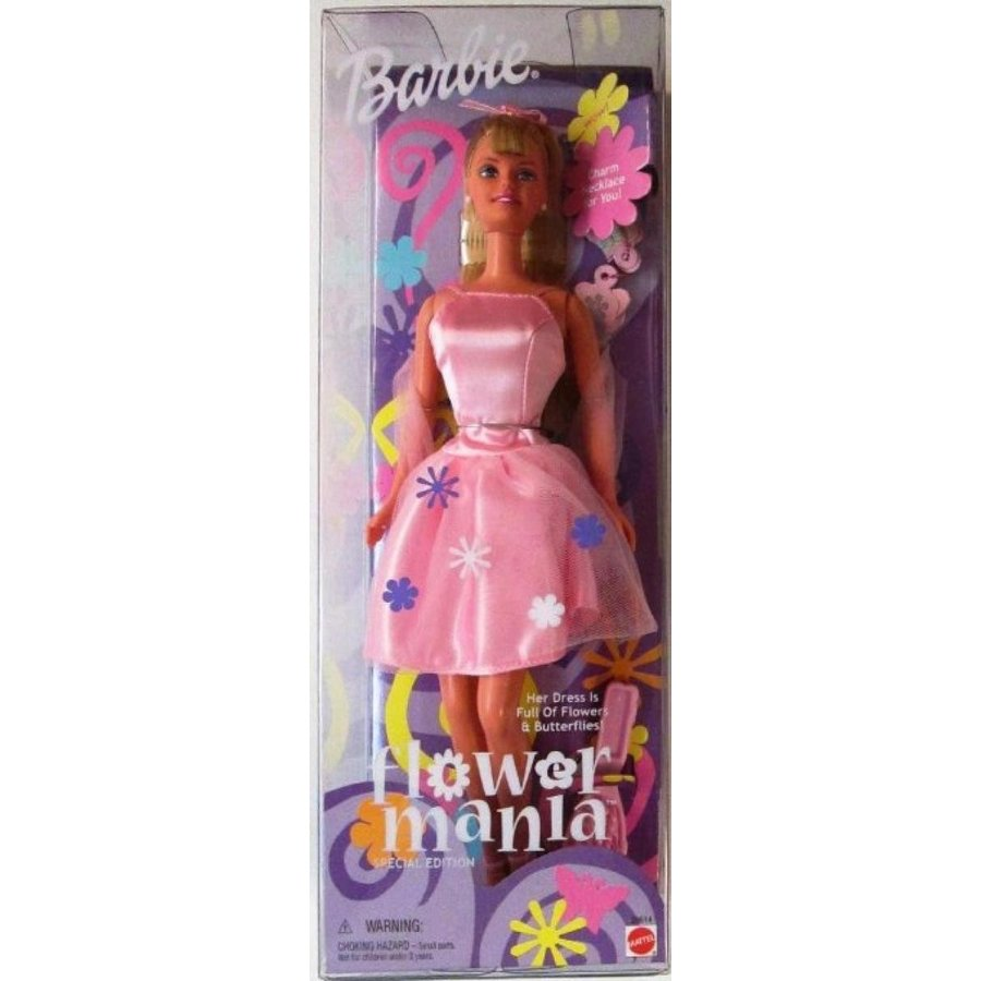 バービー人形 着せ替え おもちゃ Barbie Flower Mania - Special Edition 輸入品