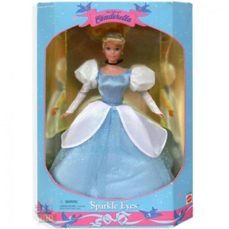 バービー人形 着せ替え おもちゃ Mattel Walt Disney's Sparkle Eyes Cinderella 輸入品