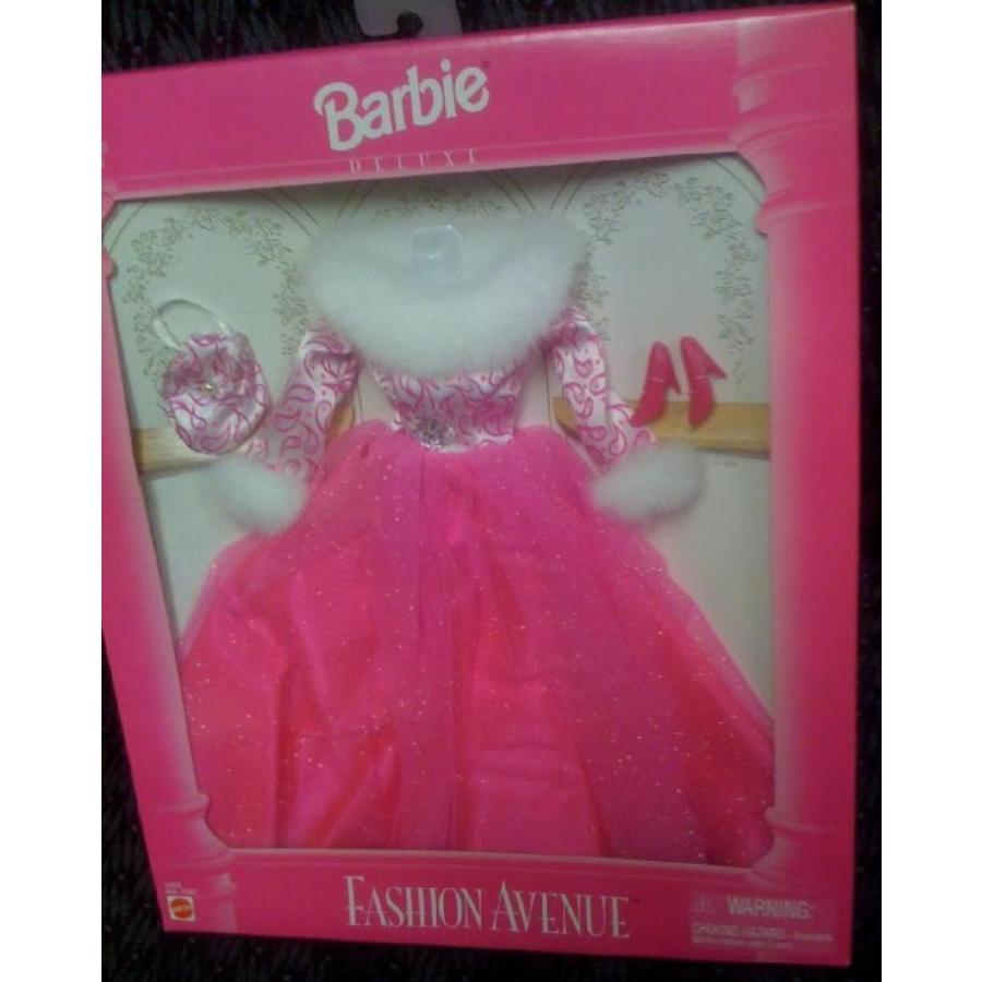 バービー人形 おもちゃ 着せ替え Barbie Fashion Avenue Deluxe ピンク Evening Gown with Fur 14305 輸入品