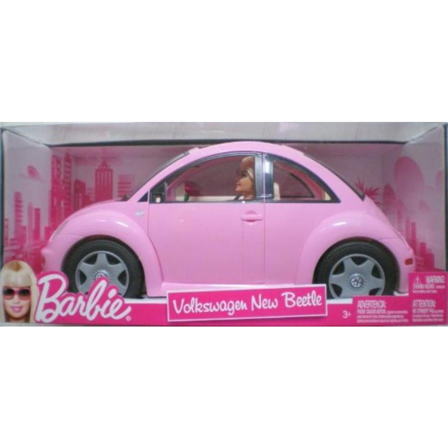 バービー人形 おもちゃ 着せ替え Barbie Volkswagen New Beetle & Doll Set 輸入品