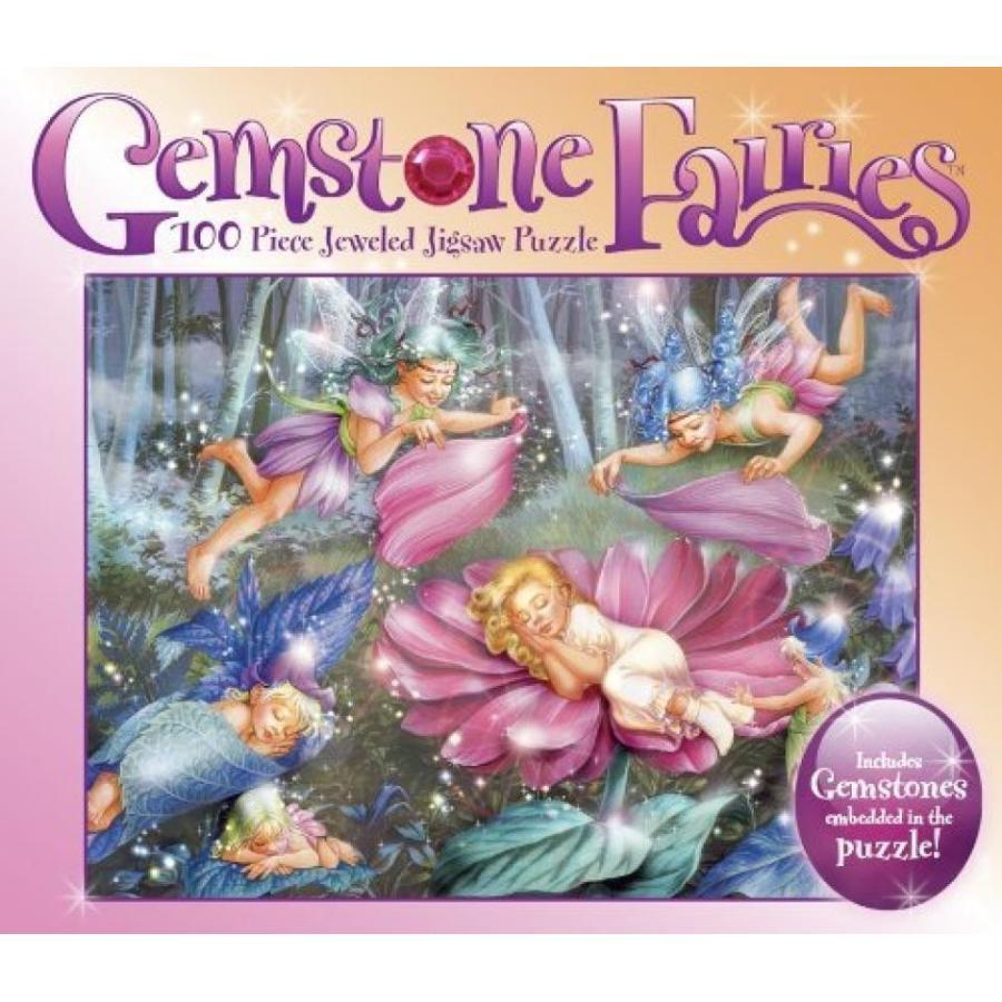 バービー人形 着せ替え おもちゃ Gemstone Fairies 100 Piece Casse-tete De Bijou 輸入品