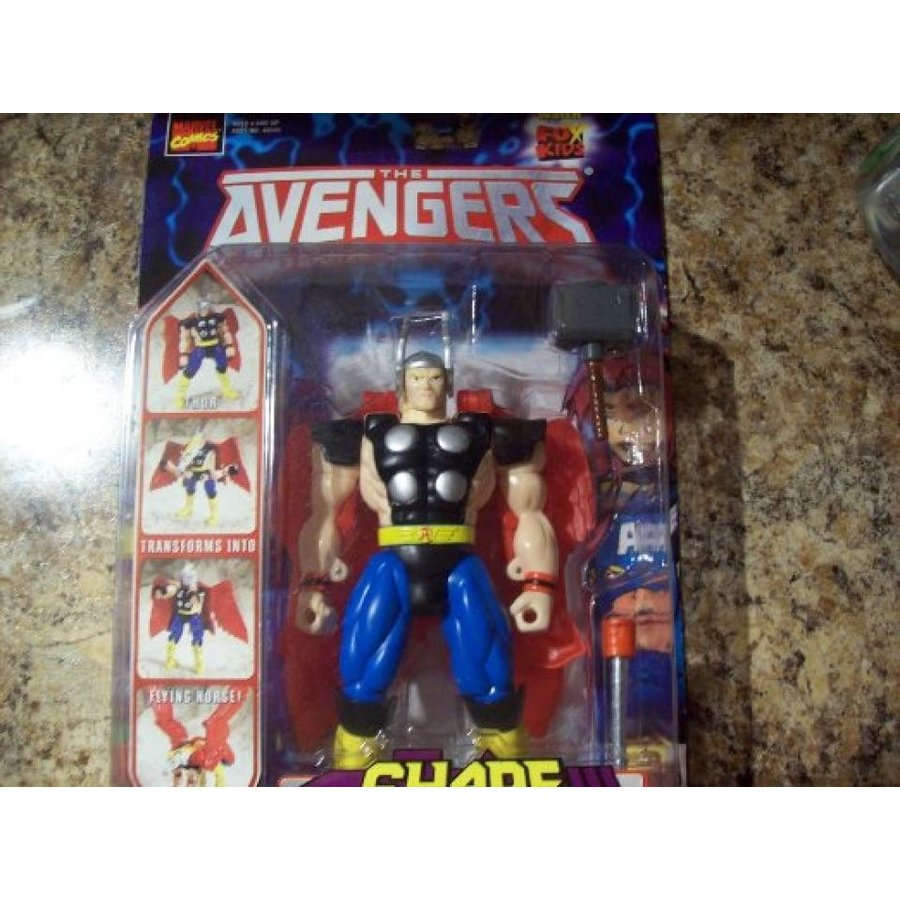 アベンジャーズ おもちゃ フィギュア The Avengers Animated Series Thor Shape Shifters Action Figure 輸入品