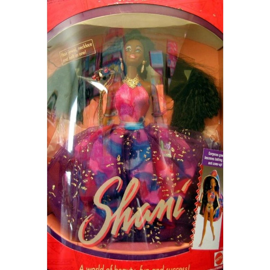 バービー人形 着せ替え おもちゃ Barbie SHANI Doll AA - The Marvelous World of Shani & Her Friends! (1991) 輸入品