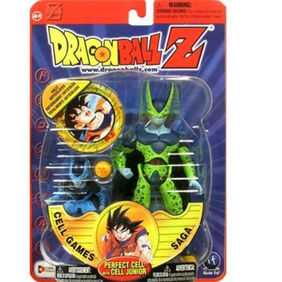 アベンジャーズ おもちゃ フィギュア PERFECT CELL w/ JUNIOR Dragon Ball Z DBZ Figure SEALED 輸入品