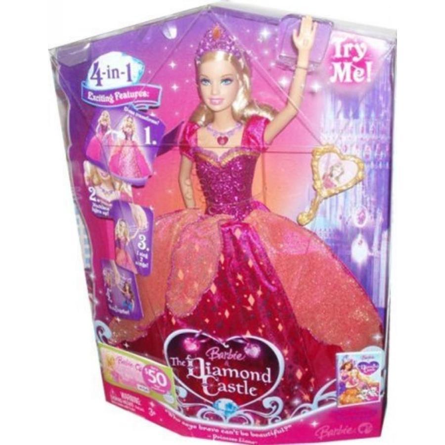バービー人形 着せ替え おもちゃ Barbie The Diamond Castle DVD Series 12 Inch Singing Doll