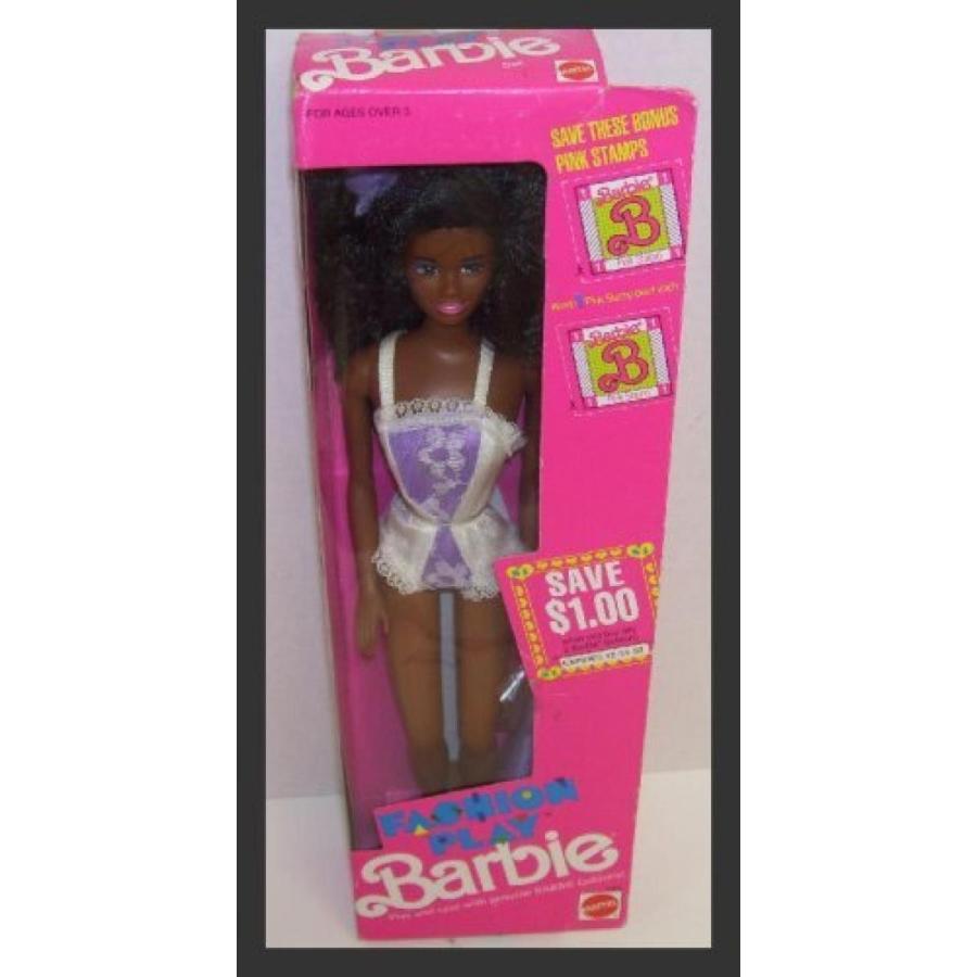 バービー人形 おもちゃ 着せ替え African American Fashion Play Lingerie Barbie Doll 輸入品