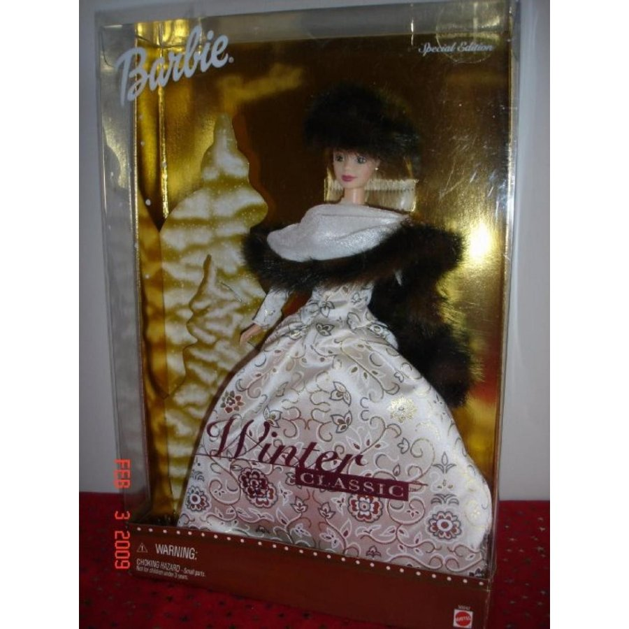 バービー人形 着せ替え おもちゃ Barbie Doll Winter Classic Special Edition 2001 輸入品