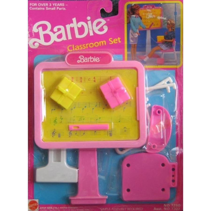 バービー人形 おもちゃ 着せ替え Barbie Classroom Play Set w